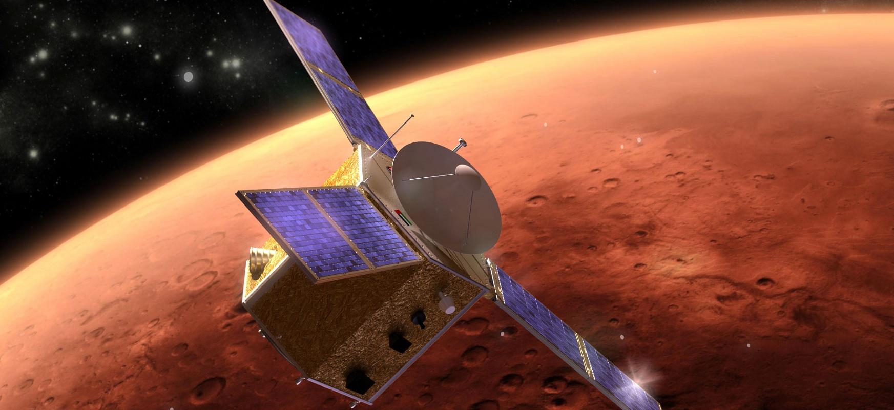 Emirates Mars Mission 'Hope' Mars Orbit Insertion