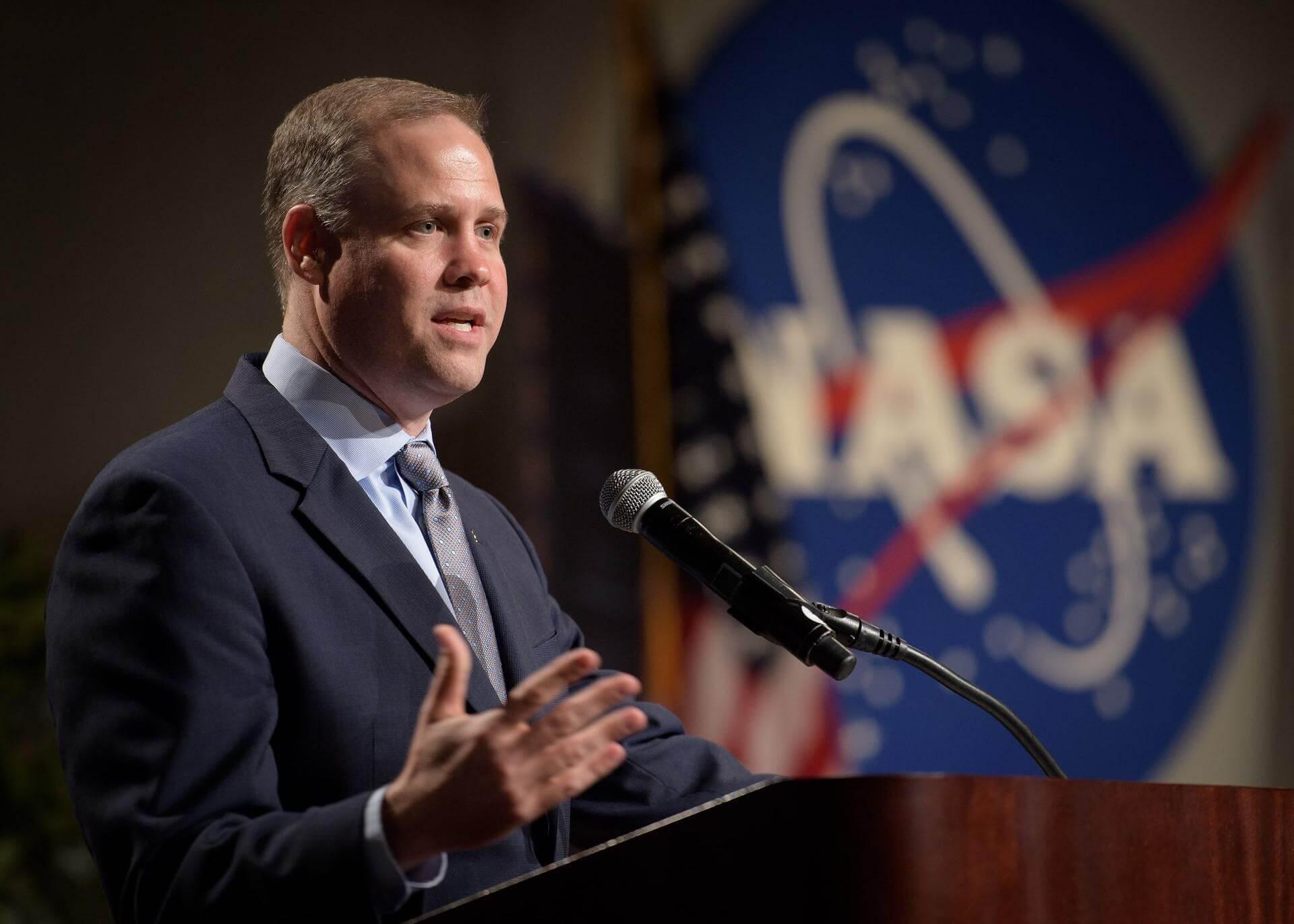 Jim Bridenstine at the 2020 Mars Society Convention