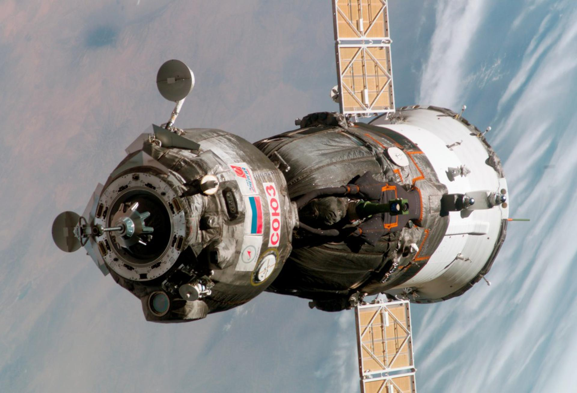 Soyuz MS-17 Docking