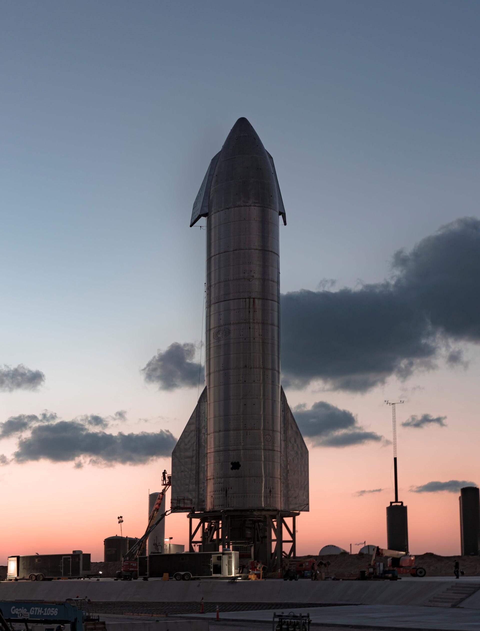 Starship SN8 | 15 km Flight