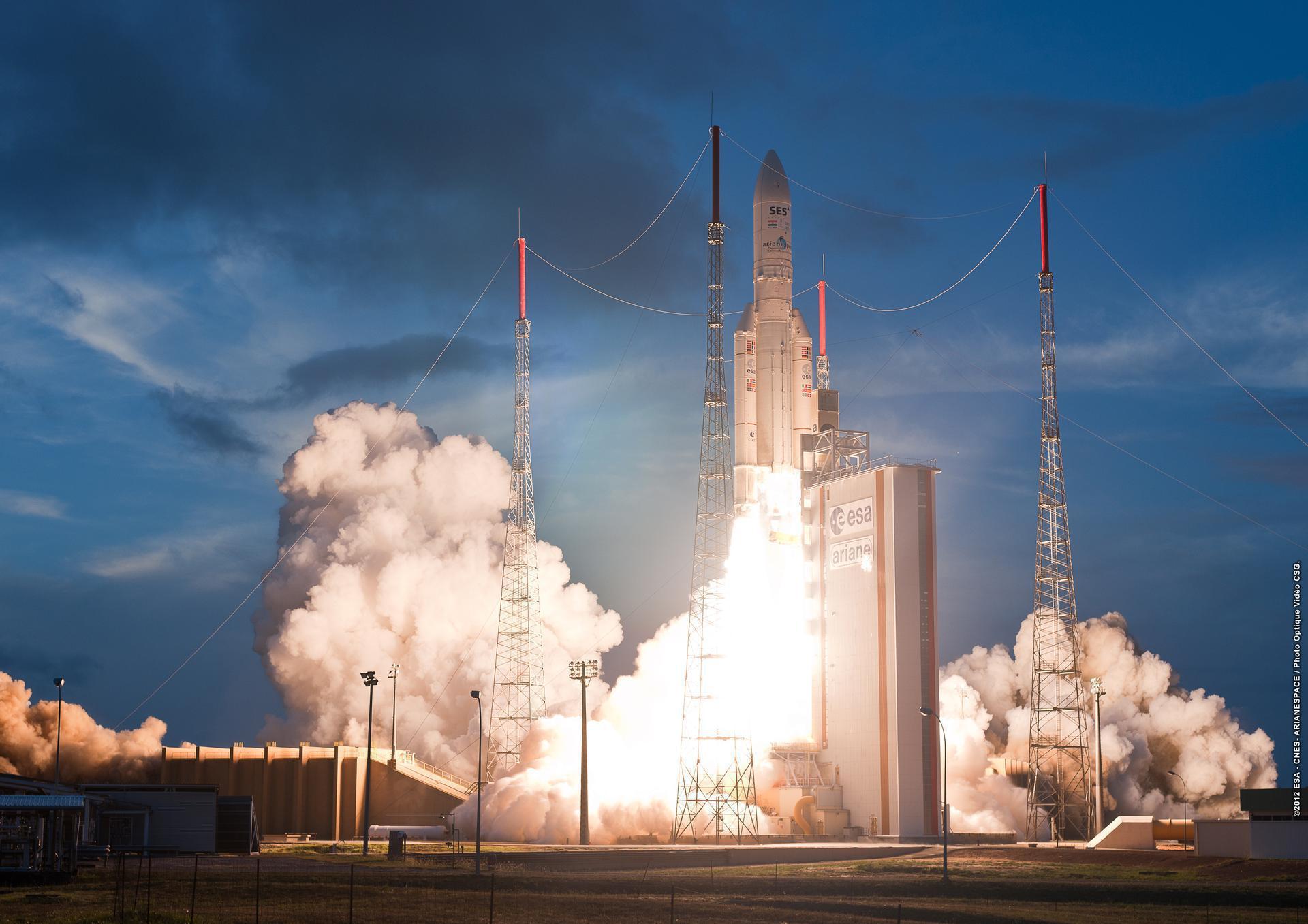 Ariane 5 ECA+ | JCSAT-17 & GEO-KOMPSAT-2B