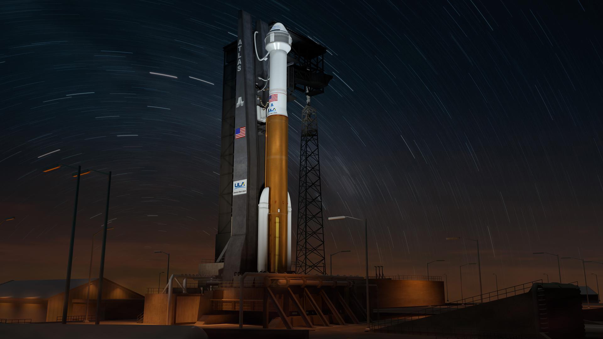 Atlas V N22   CST-100 Starliner Crewed Flight Test