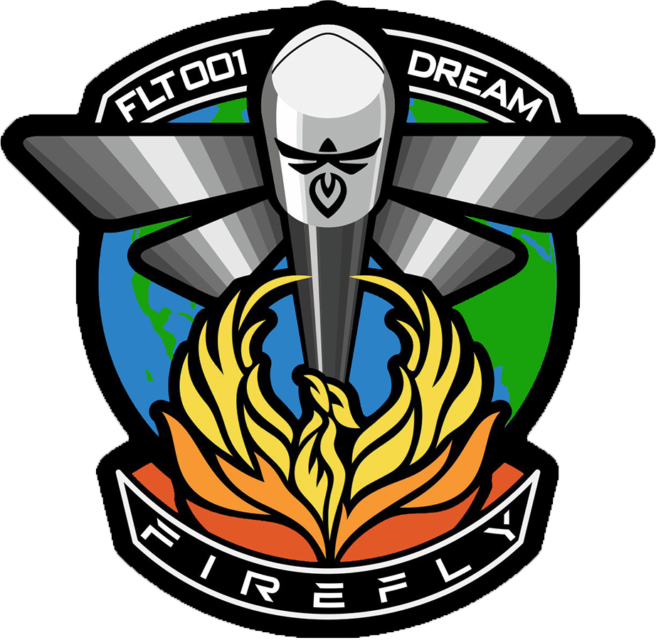 Mission patch for Maiden Flight