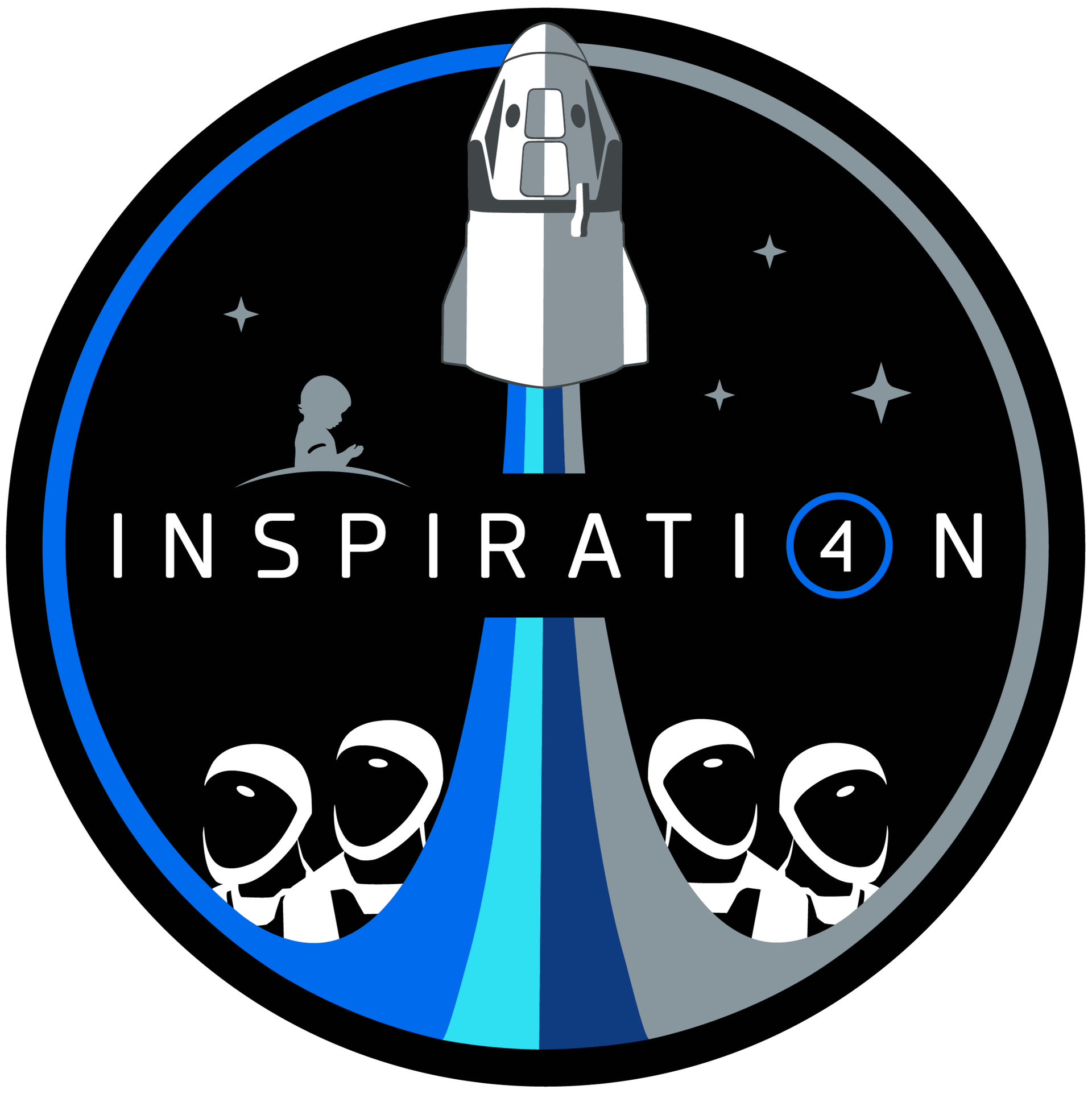 Mission patch for Inspiration4