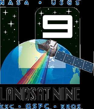 Mission patch for Landsat 9