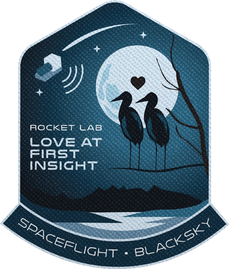 Mission patch for Love At First Insight