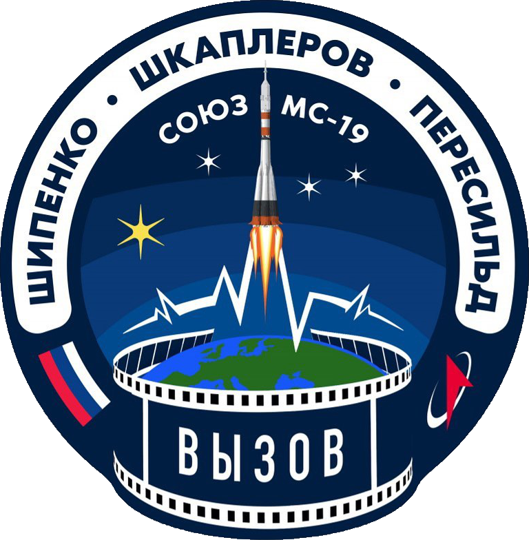 Mission patch for Soyuz MS-19