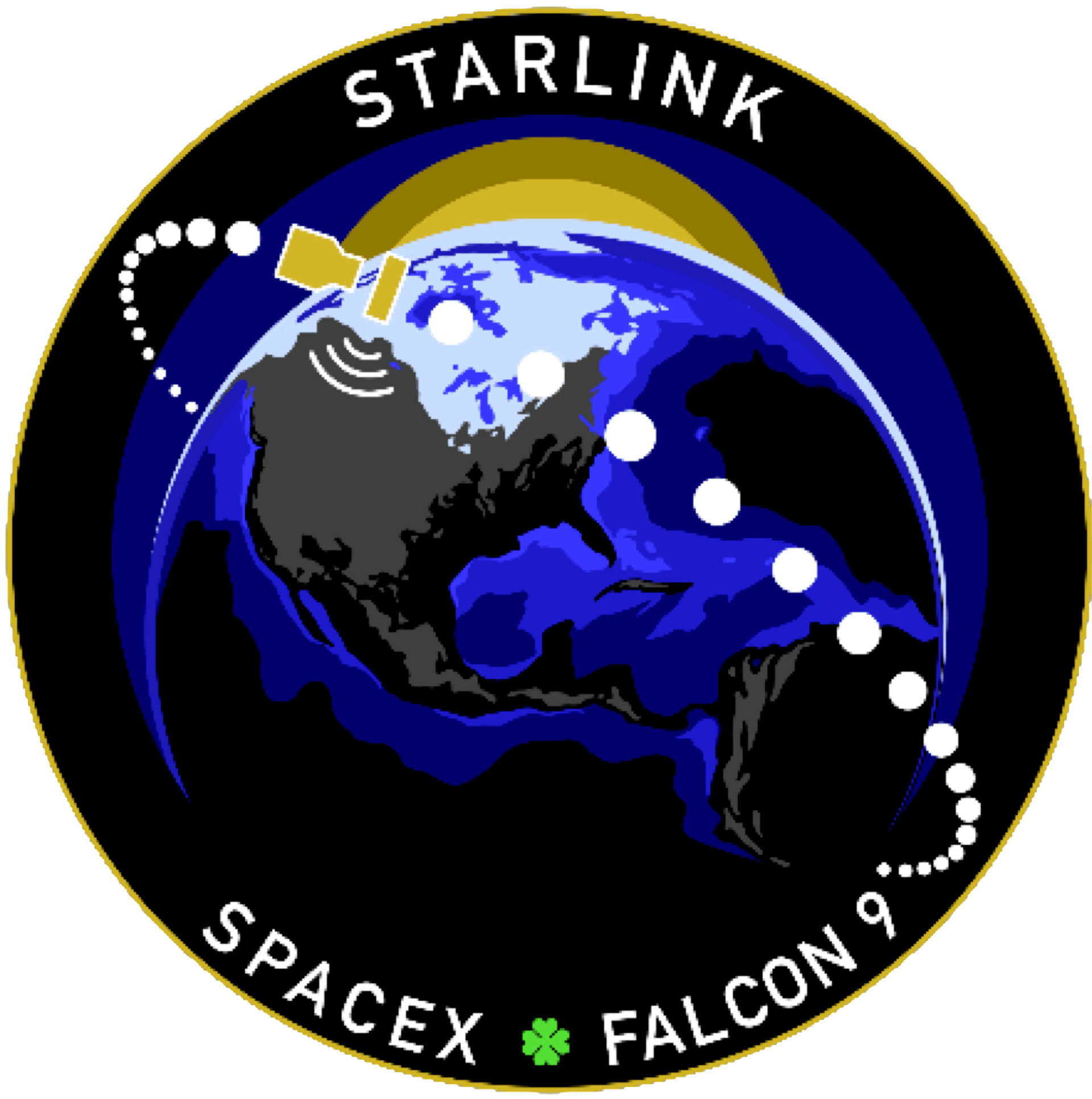 Mission patch for Starlink 30