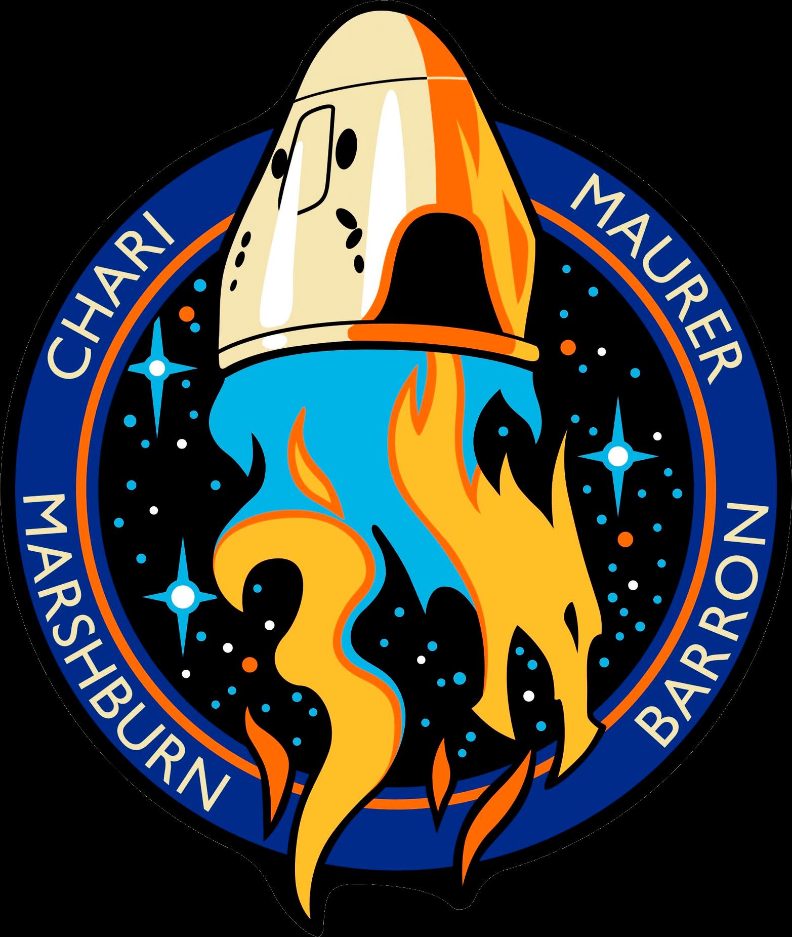 Mission patch for SpX USCV-3 (NASA Crew Flight 3)