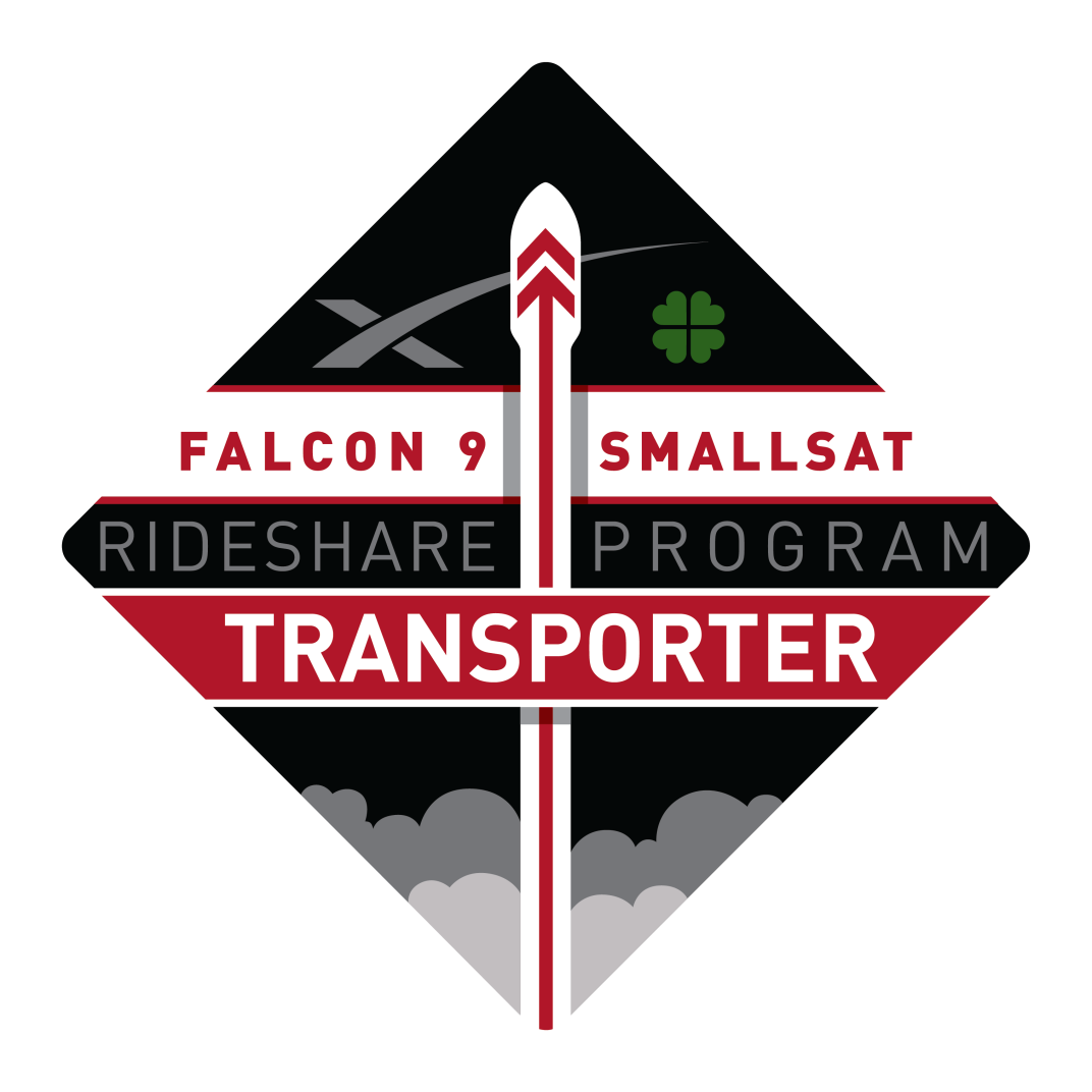 Mission patch for Transporter 3 (Dedicated SSO Rideshare)